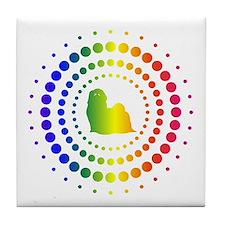 Shih Tzu Tile Coaster