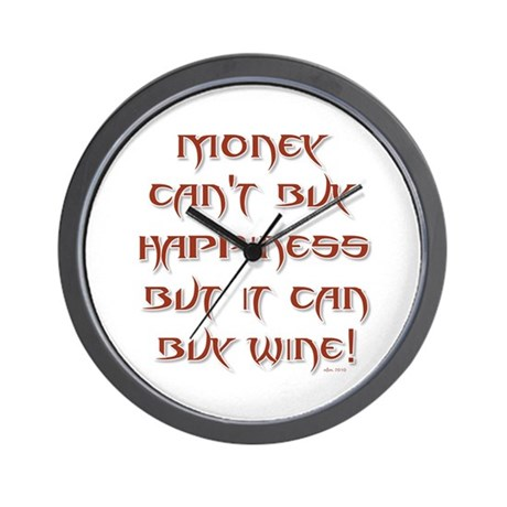 Money Can't... Wall Clock
