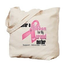 Grandmother Breast Cancer Tote Bag