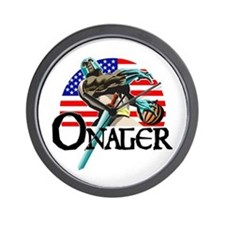 Onager Team Carbo Wall Clock