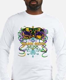 Mardi Gras Muse Long Sleeve T-Shirt
