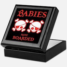 Babies Have Boarded Keepsake Box