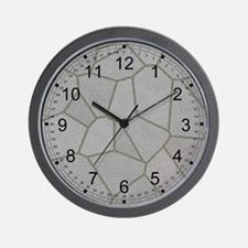 Grey Slate Wall Clock