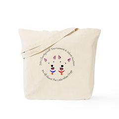 Colorado Westie Rescue Tote Bag