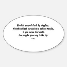 Famous J.M. Lugo Quotes Decal