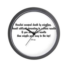 Famous J.M. Lugo Quotes Wall Clock