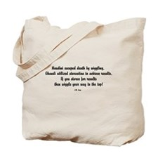Famous J.M. Lugo Quotes Tote Bag