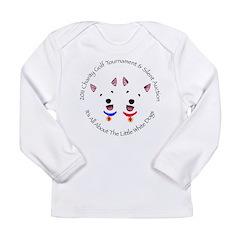 Colorado Westie Rescue Long Sleeve Infant T-Shirt