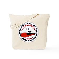 USS BIRMINGHAM Tote Bag