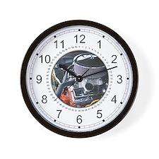 Small Block 350 Engine Wall Clock