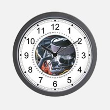 Small Block 350 Engine Wall Clock