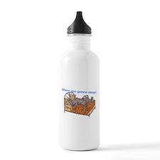 NC Blu Where you gonna sleep Water Bottle