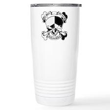 Alexander Family Crest Skull Travel Mug
