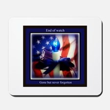 End of watch Mousepad