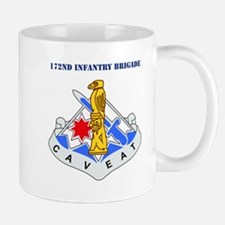 DUI-172nd Infantry Brigade with text Mug