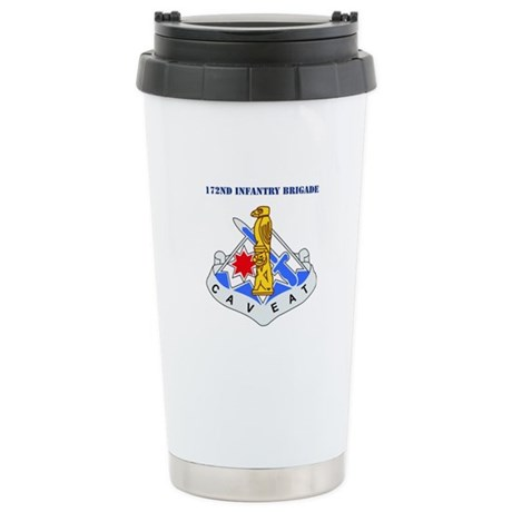 DUI-172nd Infantry Brigade with text Stainless Ste