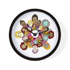 Circle Of Women Wall Clock