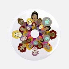 "Circle Of Women 3.5"" Button"