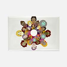 Circle Of Women Rectangle Magnet
