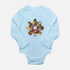 Circle Of Women Long Sleeve Infant Bodysuit
