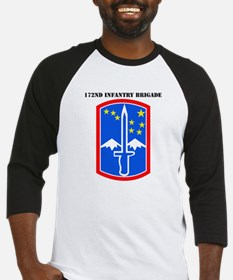 SSI-172nd Infantry Brigade with text Baseball Jers
