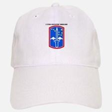 SSI-172nd Infantry Brigade with text Baseball Baseball Cap