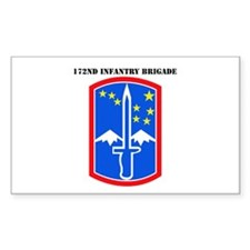 SSI-172nd Infantry Brigade with text Decal