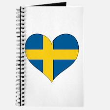 Flag in Heart Journal