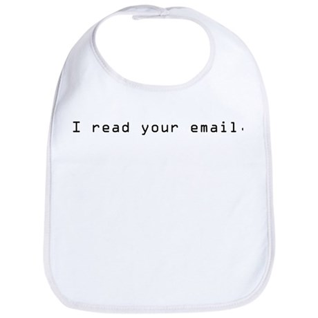 I read your email Bib