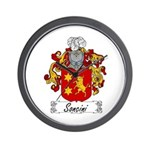 Soncini Family Crest Wall Clock
