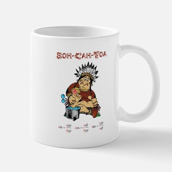 The Legend of Soh-Cah-Toa Mug