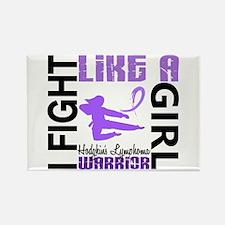 Licensed Fight Like a Girl 3.2 H Rectangle Magnet