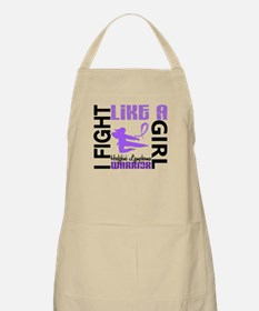 Licensed Fight Like a Girl 3.2 H Lymphoma Apron