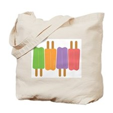 Cute Popsicles Tote Bag