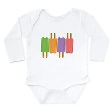 Popsicle Long Sleeve Infant Bodysuit