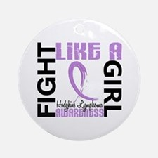 Licensed Fight Like a Girl 3.3 H Ornament (Round)