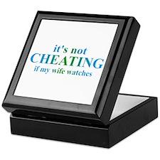 Wife Watches... Keepsake Box