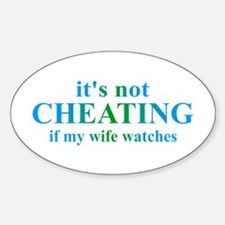 Wife Watches... Decal