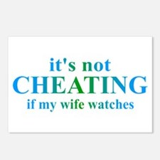 Wife Watches... Postcards (Package of 8)