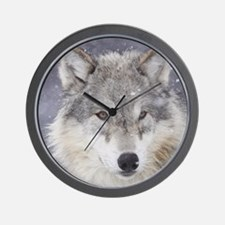 Snow Bound Wall Clock