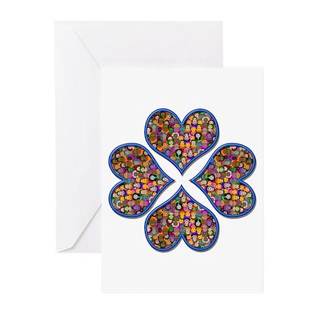 Hearts-n-Wings Greeting Cards (Pk of 20)