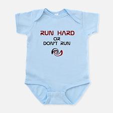 Cute Runner man Infant Bodysuit