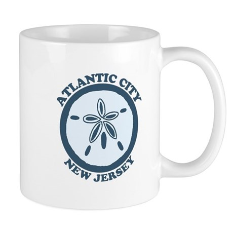 Atlantic City NJ - Sand Dollar Design Mug