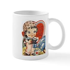 Retro Valentine Cutie Pie Mug