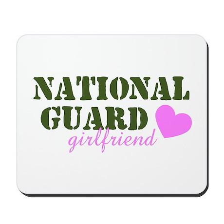 NG Girlfriend Green & Heart Mousepad