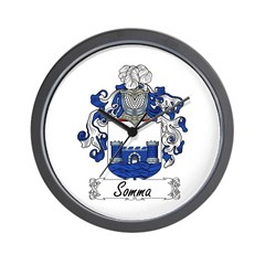 Somma Coat of Arms Wall Clock