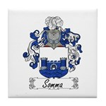 Somma Coat of Arms Tile Coaster