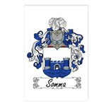 Somma Coat of Arms Postcards (Package of 8)