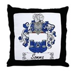 Somma Coat of Arms Throw Pillow