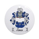 Somma Coat of Arms Ornament (Round)